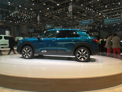 Citroën C4 Cactus: berlinisée - Vidéo en direct du salon de Genève 2018