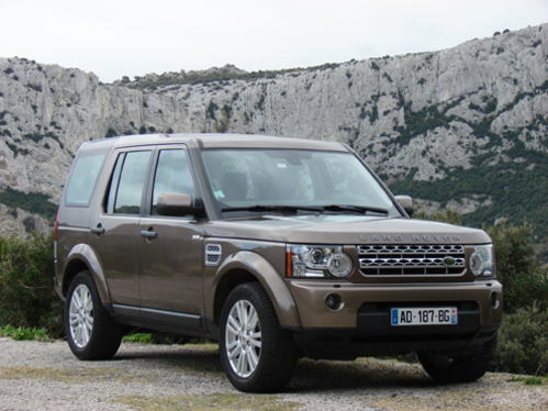land rover discovery les photos. Black Bedroom Furniture Sets. Home Design Ideas