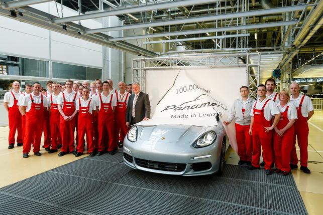 Porsche célèbre déjà la 100 000eme Panamera produite