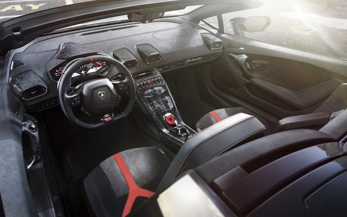 Salon de Genève 2018 - Lamborghini dévoile l'Huracan Performante Spyder