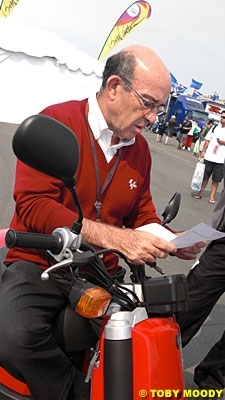 """Moto GP - Ezpeleta: """"Kawasaki m'a informé qu'ils arrêtaient, mais je ne vois là rien de catastrophique"""""""