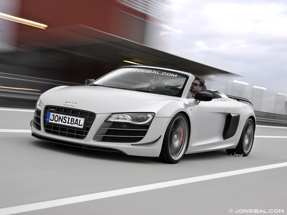 et pourquoi pas une audi r8 gt spyder. Black Bedroom Furniture Sets. Home Design Ideas
