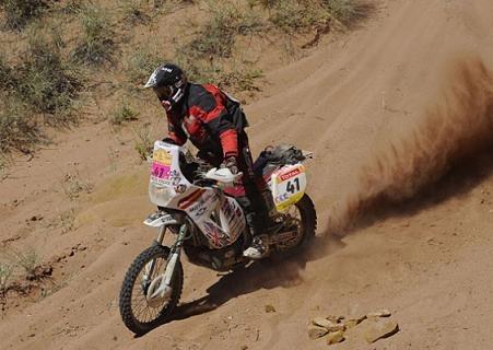 Dakar, 5ème étape, Street remporte l'étape du jour