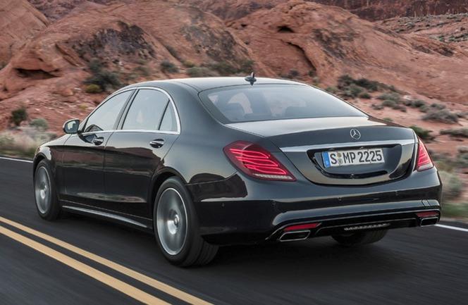 La nouvelle Mercedes Classe S en détail