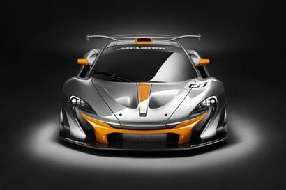 Voici la McLaren P1 GTR, encore à l'état de concept