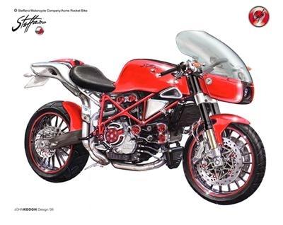 "Ducati ""Cafe Racer"" 999 by Robert Steffano"