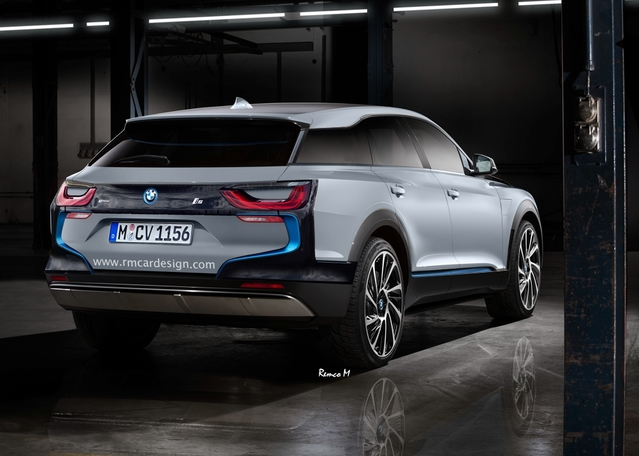 Futur SUV BMW i5 : comme ça ?