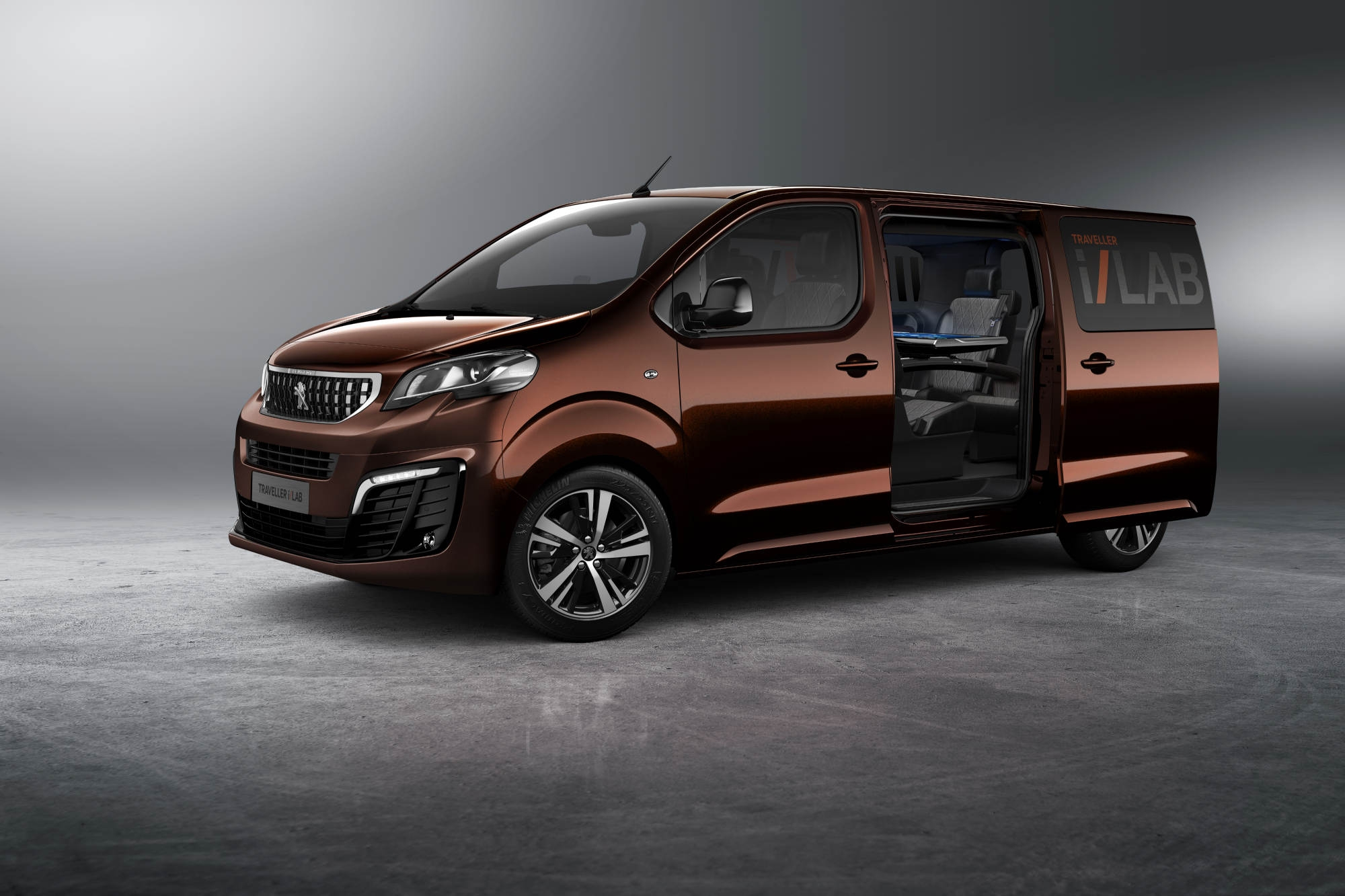salon de gen ve 2016 peugeot traveller i lab concept. Black Bedroom Furniture Sets. Home Design Ideas