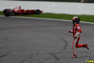 """Formule 1 - Raïkkonen: """"Je me battrai jusqu'à la fin"""""""