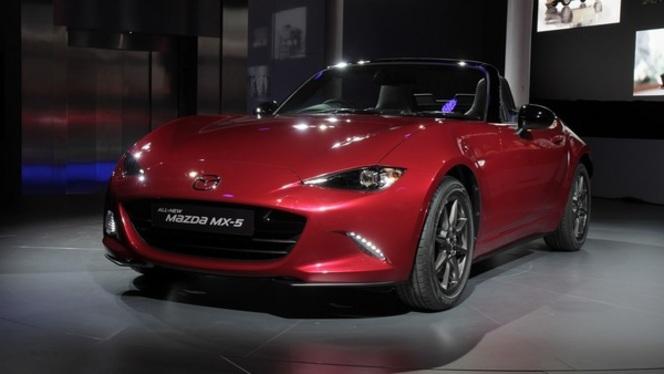 """Guide des stands Mondial 2014 - Mazda, à """"2"""" avec la MX-5"""