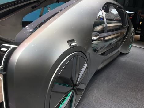 Renault EZ-GO concept : le taxi du futur - En direct du salon de Genève 2018