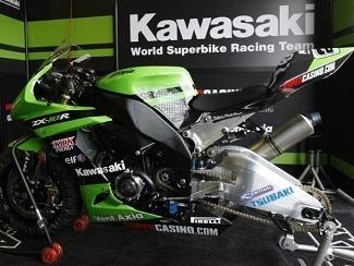 Superbike - Kawasaki: Les travaux ont continué à Cartagena
