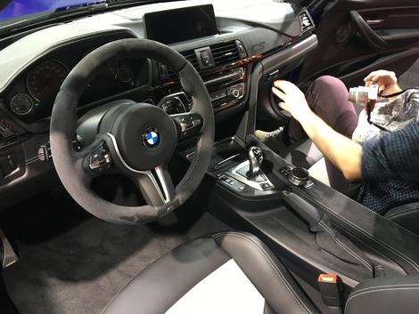 BMW M3 CS : radicale - Vidéo en direct du salon de Genève 2018