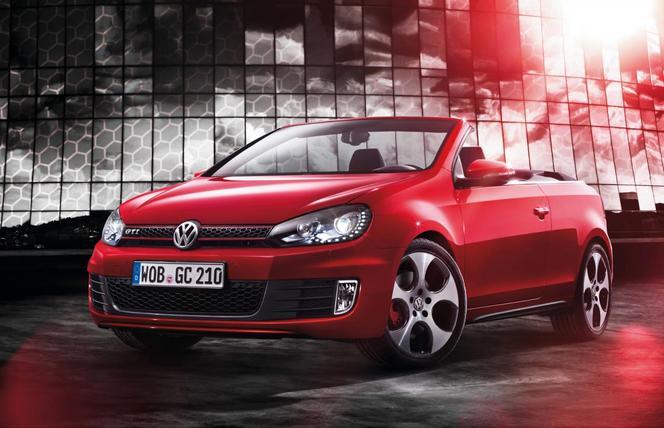Genève 2012 : VW Golf GTi Cabriolet, la première