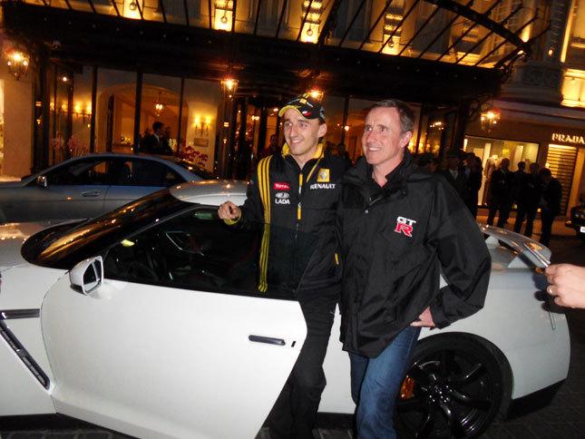 F1 : Kubica : une première ligne, un podium et une Nissan GT-R
