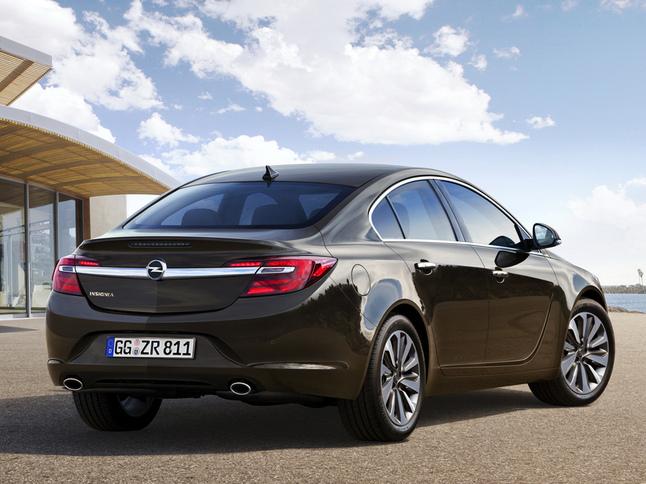 Est-ce là le restylage de l'Opel Insignia ?