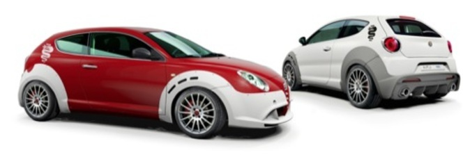 Alfa Romeo MiTo : en attendant la GTA , le Kit One