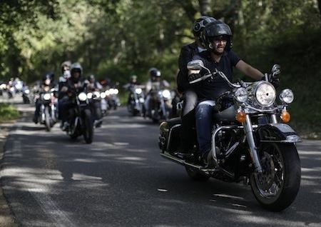 Harley-Davidson, Défi Des 999: départ d'Avignon le 2 avril 2016