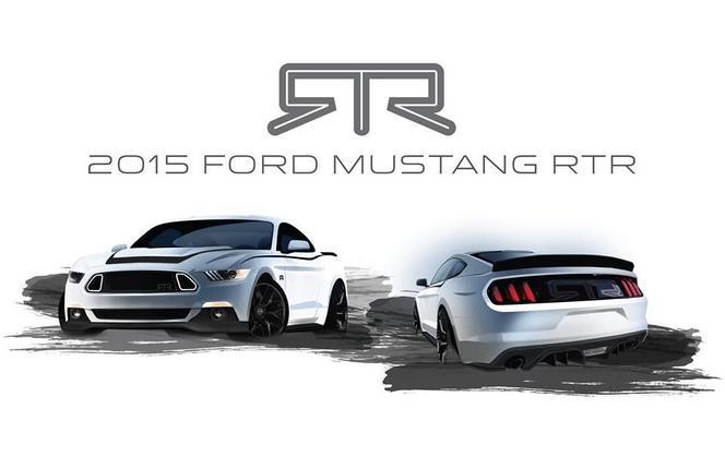 La Ford Mustang RTR se dévoile en teasing