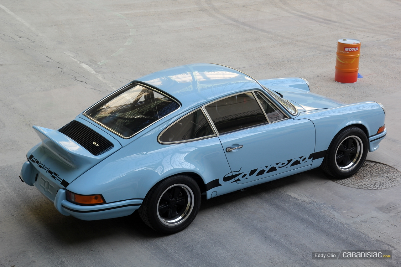 1972 1973 Porsche 911 Carrera Rs 2 7 Dark Cars