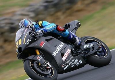 Moto GP: Test Phillip Island D.1:  Coup d'arrêt pour Suzuki
