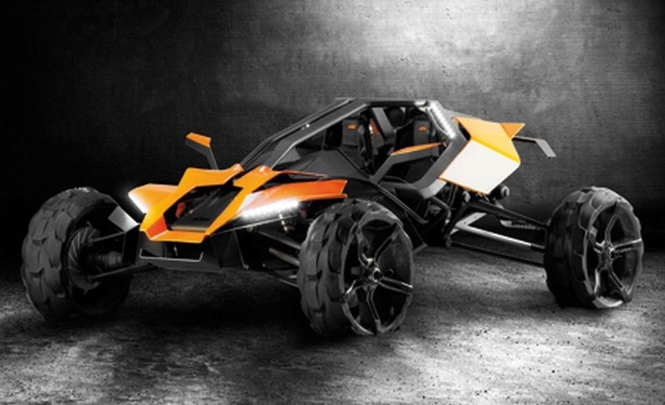 KTM : les futurs prototypes par FH Joanneum