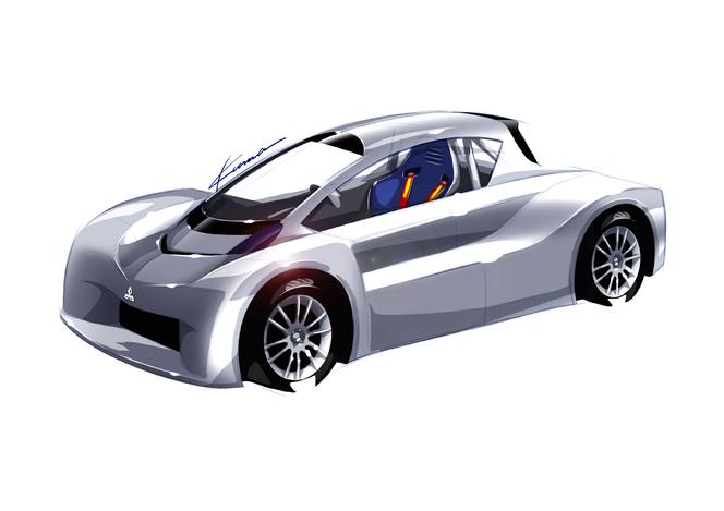 Pikes Peak 2012 : un prototype Mitsubishi i-MiEV au départ