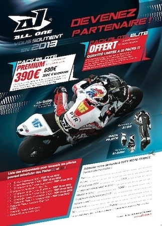 All One: packs pilote pour 2013
