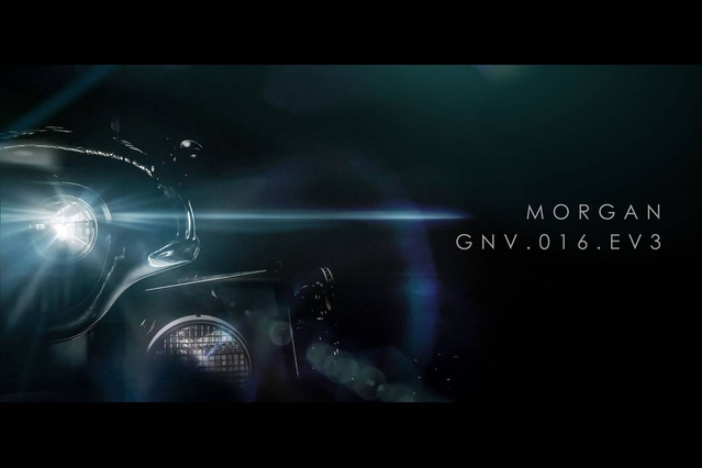 Salon de Genève 2016 : la première Morgan électrique EV3 de série montre son nez