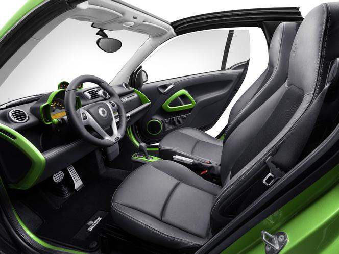 Genève 2012 : Smart Brabus electric drive, la tension monte