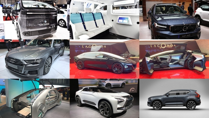 """Du concept car doté d'intelligence artificielle à la """"vraie"""" voiture, le concept de voiture autonome ratisse large."""