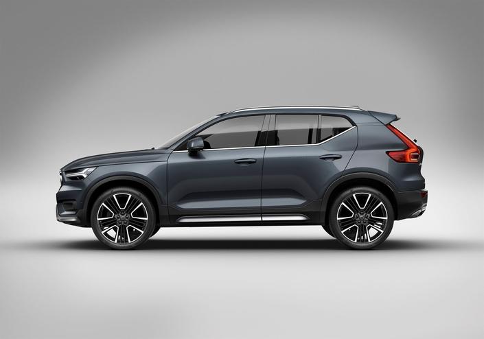 La Volvo XC40, voiture de l'année, permet une conduite semi-autonome dans les embouteillages et sur route.