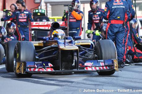 F1-Essais Barcelone, jour 1: Lotus revient en forme !