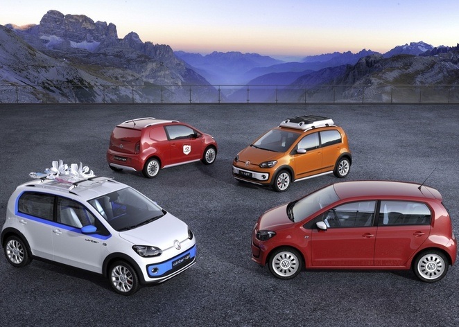 Genève 2012 : quatre concepts Up!  sur le stand VW