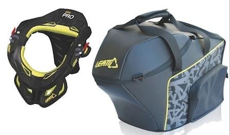 Sac Leatt Brace 2 en 1: pour transporter casque et protec' cervicale