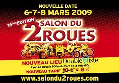 Calendrier : Salon du 2 Roues de Lyon, édition 2009