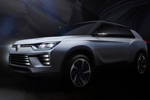 Salon de Genève 2016 : dans l'ombre, le grand SUV SsangYong SIV-2 Concept