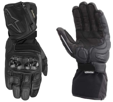 Alpinestars gants Tech Road Gore-Tex®: du touring en toute sportivité