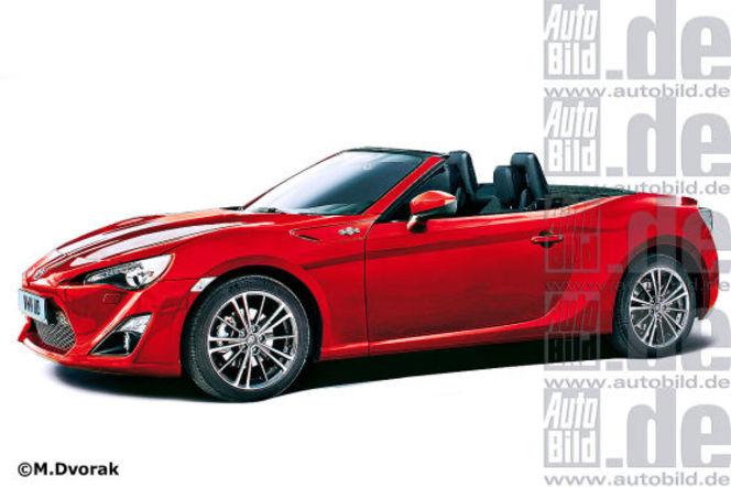 La version cabriolet du Toyota GT86 confirmée