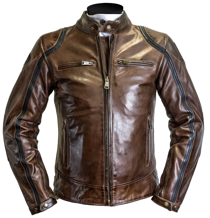 Helston's Modello: cuir full option en mode vintage