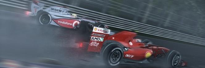 F1 2010 gestion de la météo bluffante !