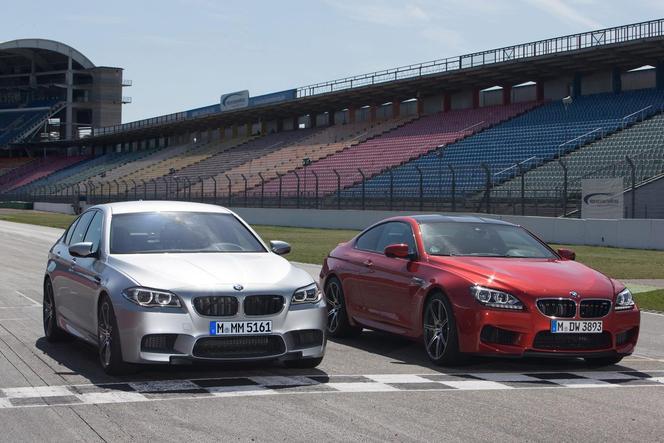 """Nouvelles BMW M5 et M6 """"Competition Package"""": +15 ch"""