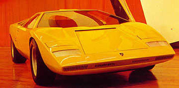 Vidéo Back to the future en Lamborghini Countach