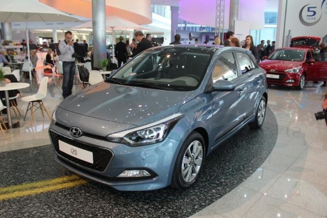 Guide des stands Mondial 2014 - Hyundai, essai transformé avec la nouvelle i20 ?