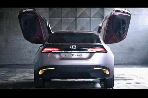 Genève 2012 : le Hyundai i-oniq se découvre un peu plus