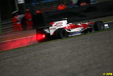 Formule 1 - Italie: Glock passe entre les gouttes
