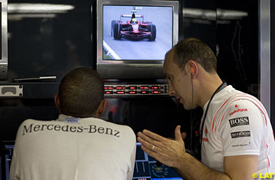 Formule 1 - Italie: Hamilton a bu la tasse