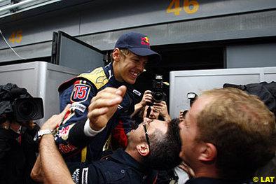 Formule 1 - Italie: Vettel entre dans l'Histoire