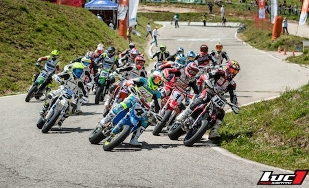 Supermotard, championnat de France 2014, round 6: Thomas Chareyre invincible