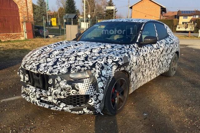 Surprise : le SUV Maserati Levante se promène